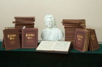 Bach-Gesamtausgabe aus Mahlers Besitz