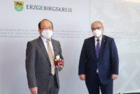 Naoshi Takahashi und Frank Vogel