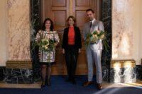 Diana Haller, Petra Olschowski, Adam Palka