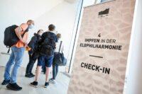 Impfen in der Elbphilharmonie