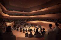 Entwurf Großer Saal im Konzerthaus München